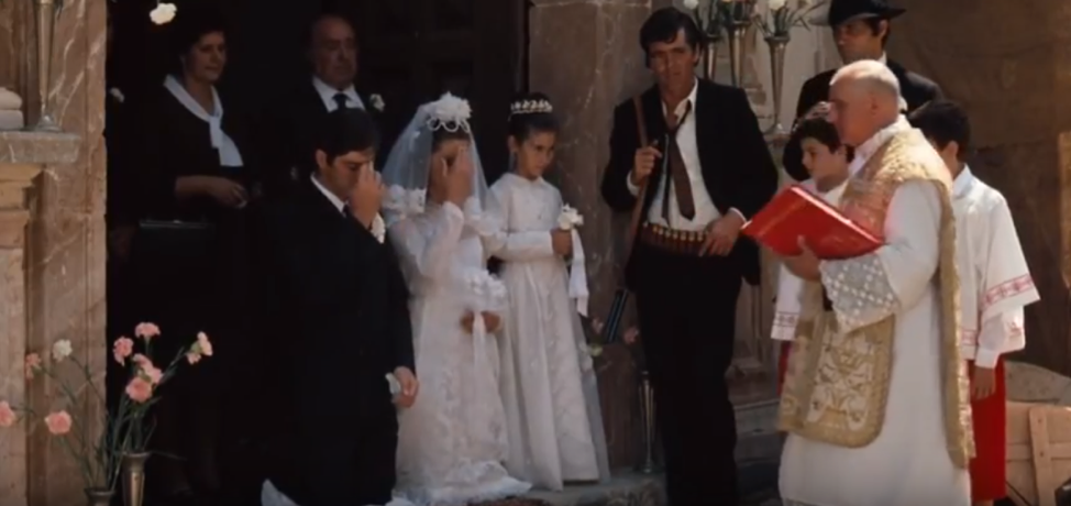 wedding scene (Michael and Apollonia) – The Godfather: Anatomy of a Film